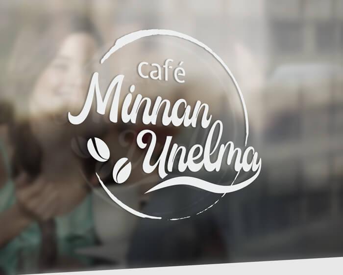 Minnan Unelma logo ikkunateippaus